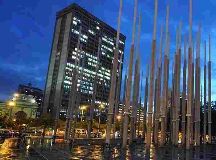 Medellin parque las luces
