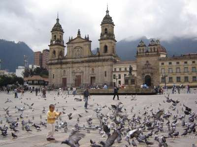 plaza bolívar bogotá